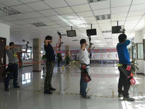 西北射箭俱乐部_(0.3折)_鑫陵射箭俱乐部首次儿童速滑轮滑视图片