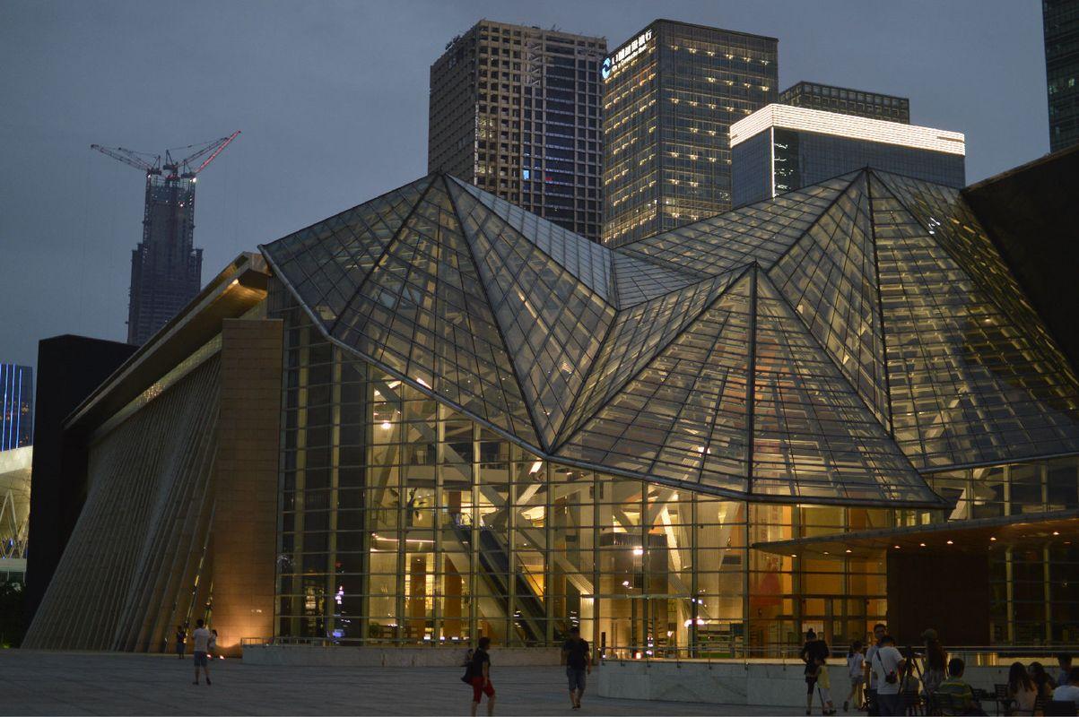 深圳图书馆,音乐厅 20140607图片