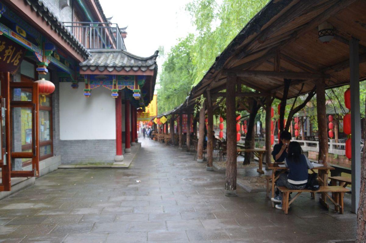 壁纸 建筑 街道 民居 小巷 1201_800图片