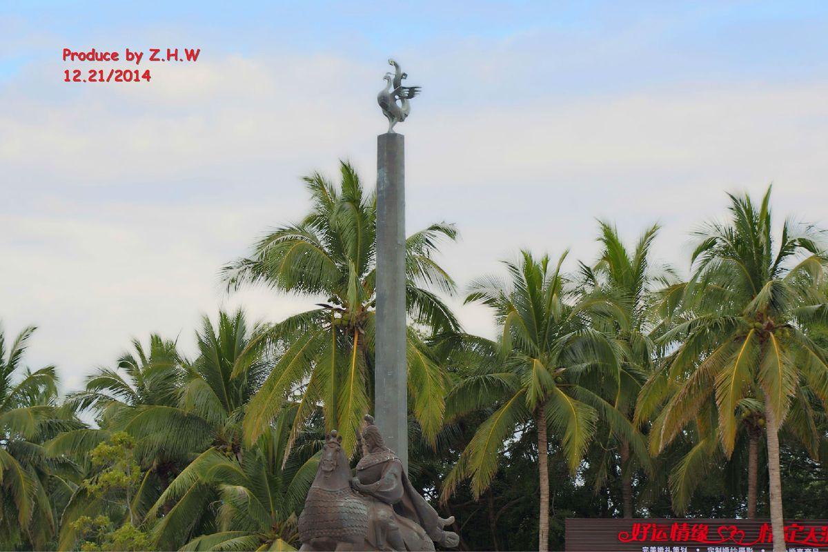 马援将军雕塑图片
