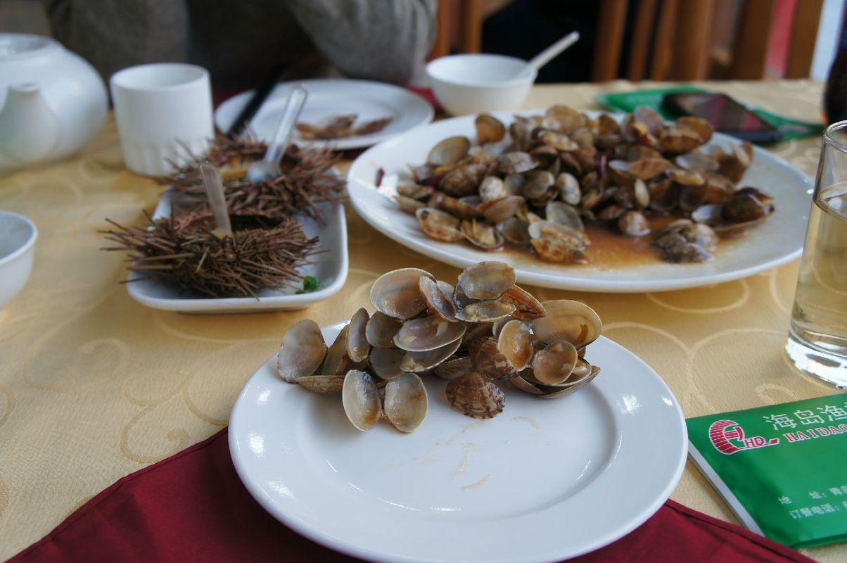 晚上来到海岛渔村大吃海鲜,真的很happy图片