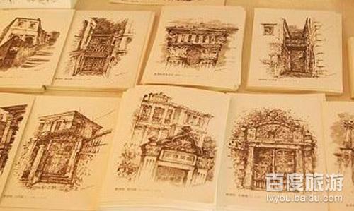 看看这些手绘的明信片.非常喜欢呢,因为相当的特别.