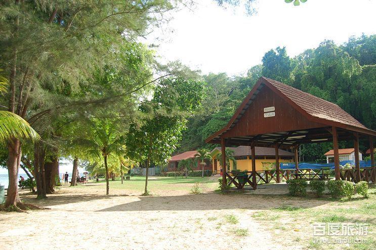 2010夏马来西亚沙巴kk之行 吹海风看日落--照片无ps