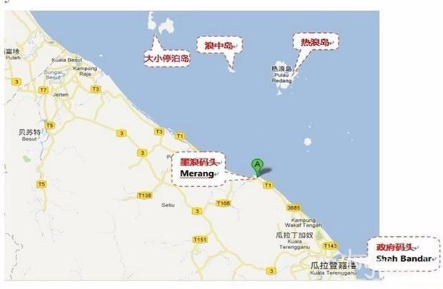 父母在,一起远游——热浪岛和浪中岛  热浪岛位于马来西亚登嘉楼州