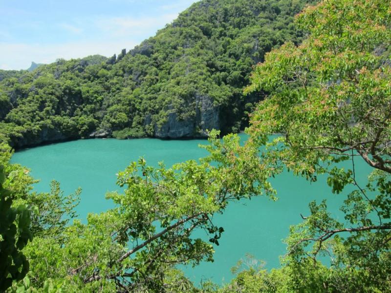 安通最美丽的风景之一,内湖图片