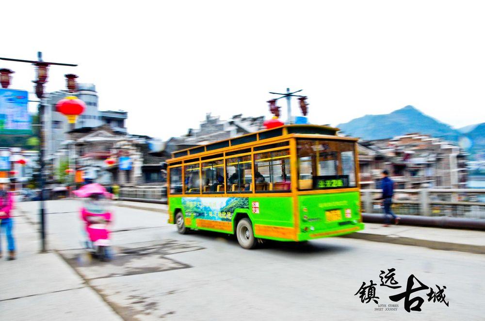 镇远的公交车也这么小巧可爱……图片