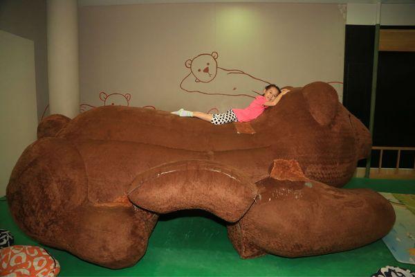 超级大的泰迪熊图片
