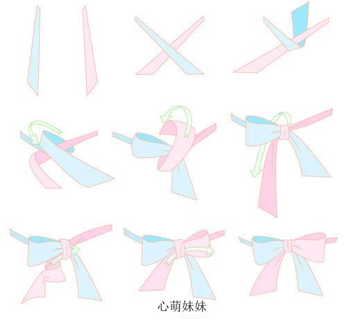 蝴蝶结的系法图解 蝴蝶结有哪几种系法