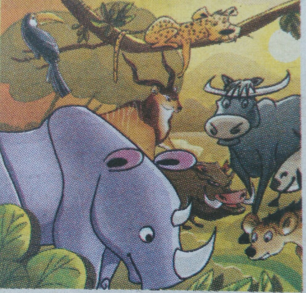 南邓36字画猜动物提示