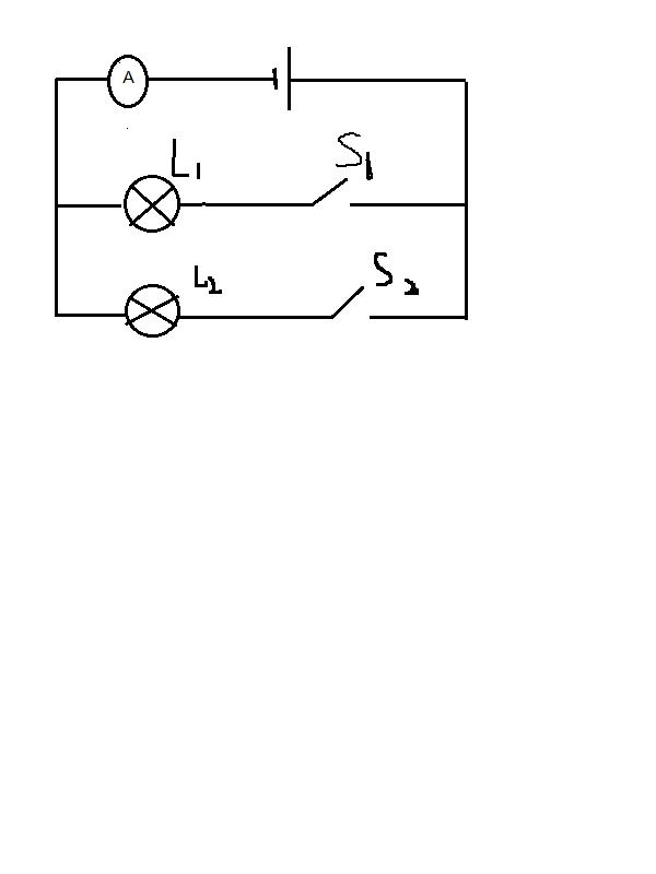 物理实物图画电路图