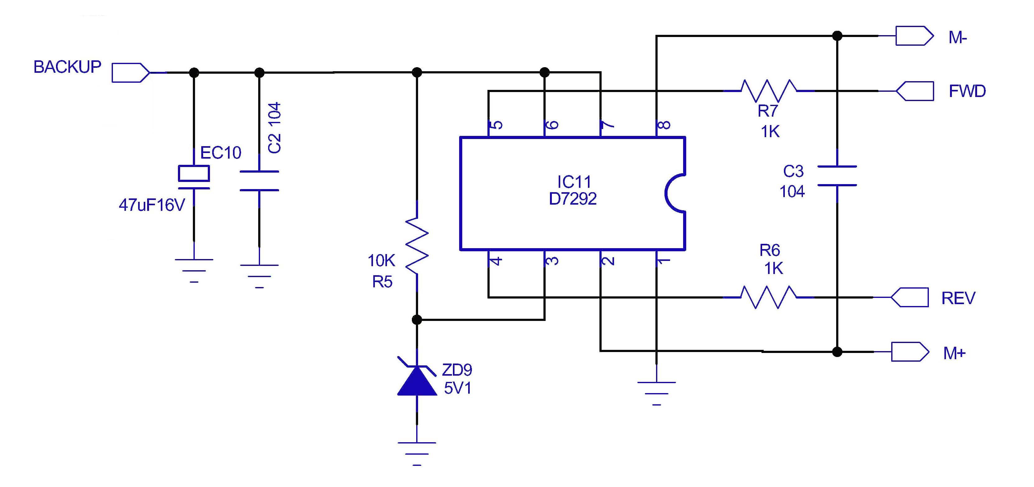 谁会开关控制电动机正反转的电路