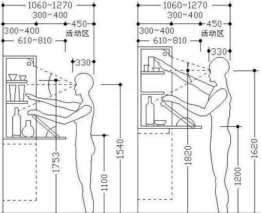 4米长酒柜设计图纸