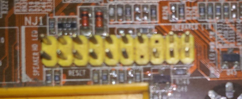 梅捷nf520 主板 接线图