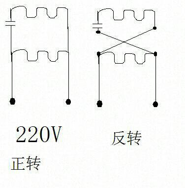 两相电机接线图
