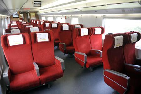 高铁g74座位号09b是靠窗吗?图片