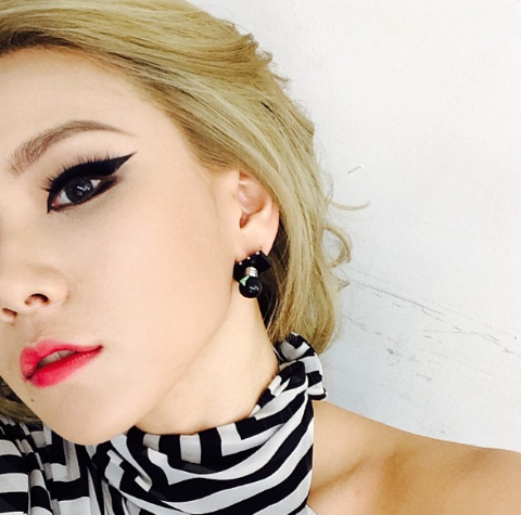 韩国霸气女生头像