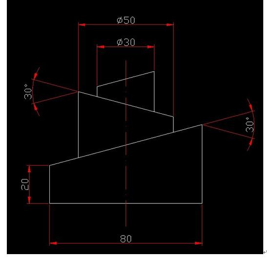 cad几个梯形放在一起要怎么画?图片