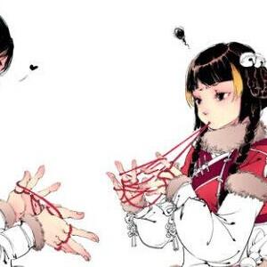 二次元古风头像两个人 情侣