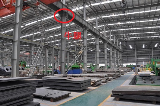 钢结构厂房的牛腿是什么鬼东西啊