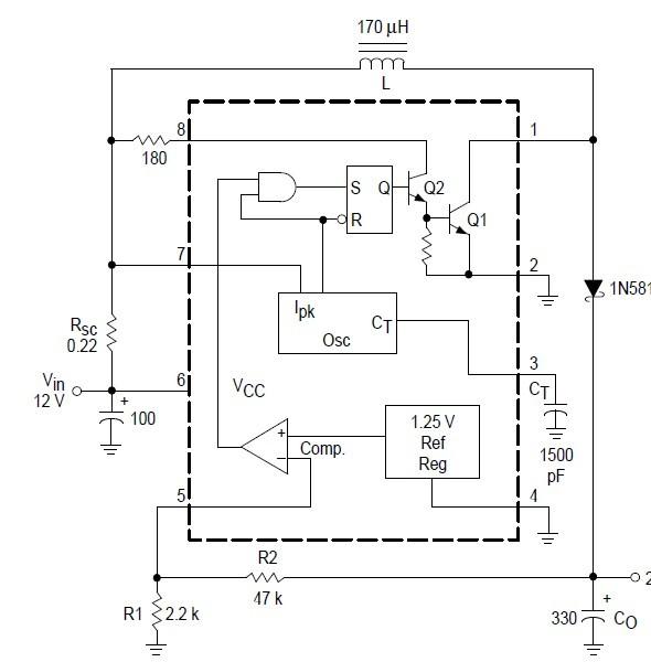 按mc34063升压电路做的电路电压为何不能调