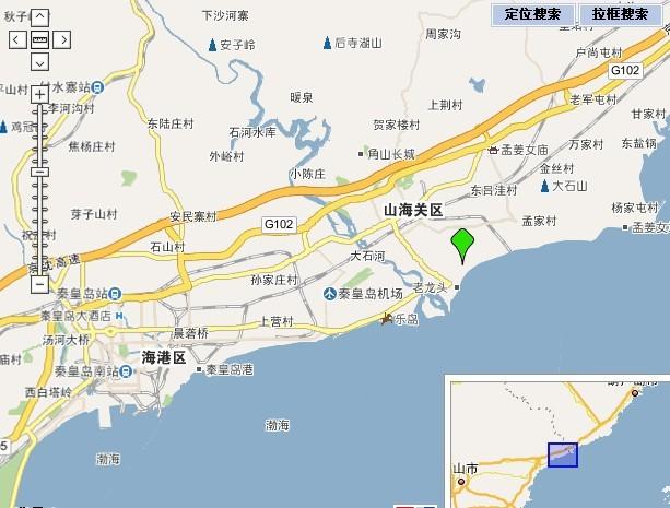 秦皇岛旅游资源分布图