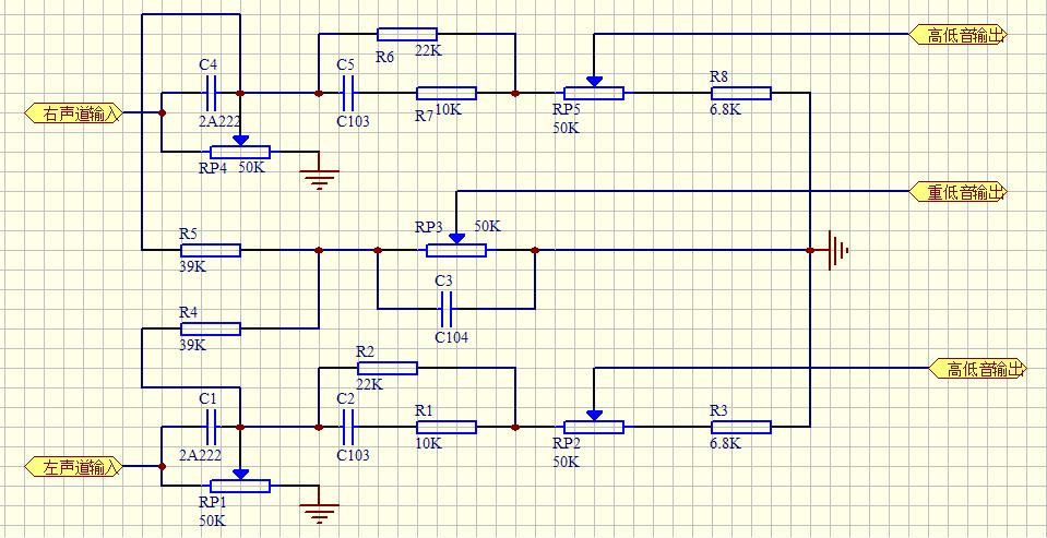 求大哥帮我看看这音调控制电路的工作原理越详细越好主要讲讲其中电容