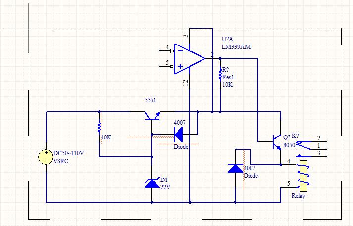 我的电路里2n5551总烧,帮忙看看有什么问题?