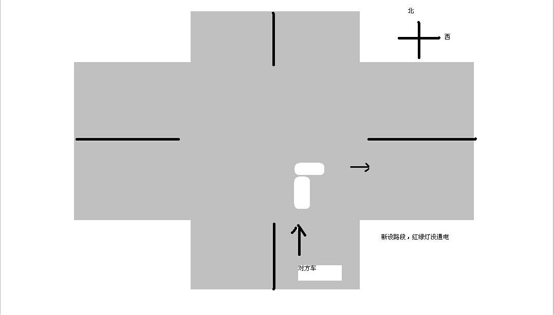 十字路口事故,红绿灯没有通电,这个责任怎么划分