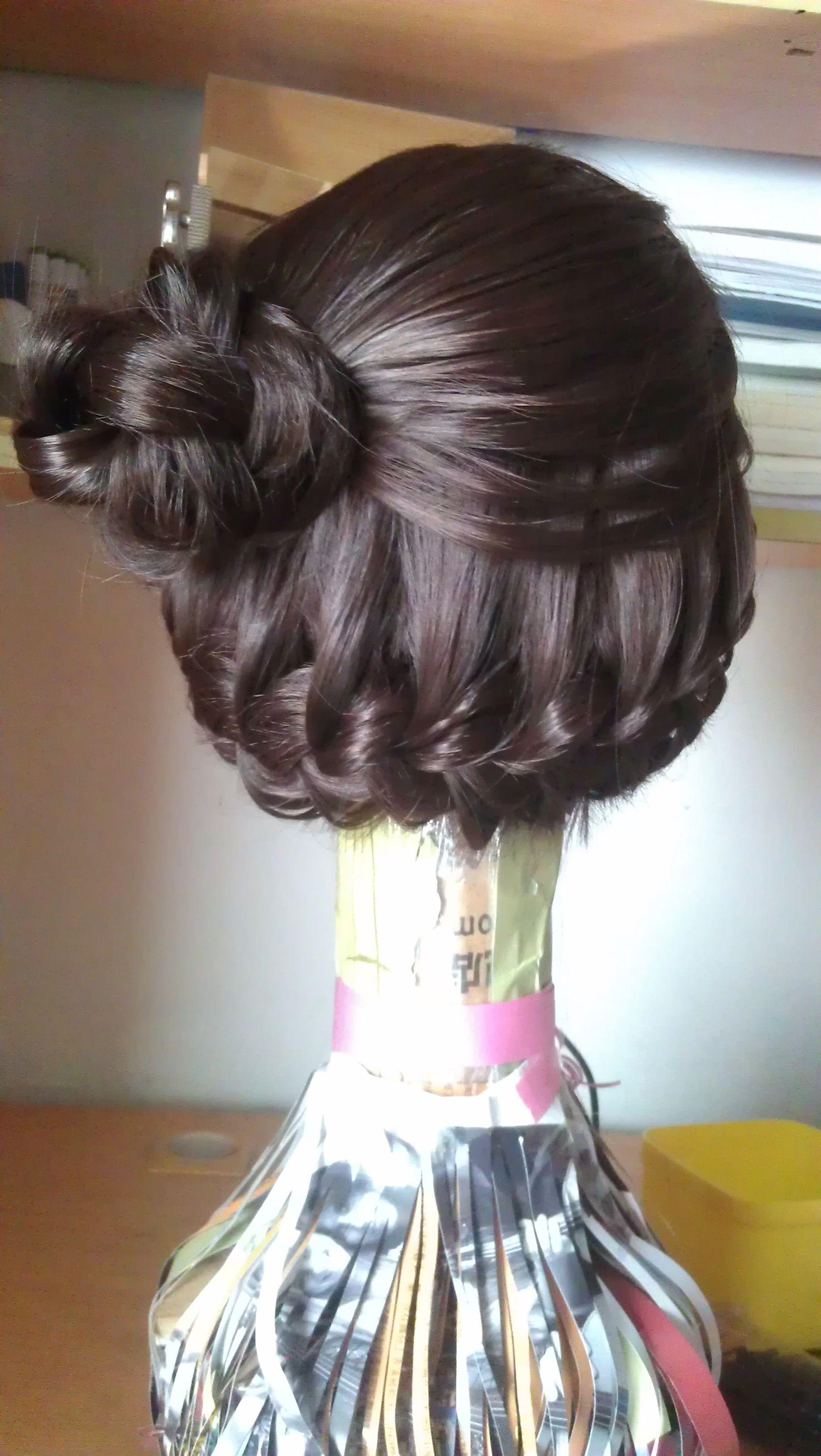 求好看的编发或者发型 小处理就好 发长和图中差不多
