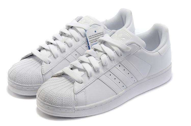 展开全部 阿迪达斯贝壳鞋也叫贝壳头鞋,即adidas superstar图片