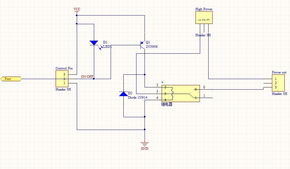 继电器电路出现问题,无法正常工作