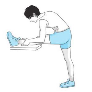 压腿最简单的方法图解