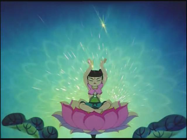 哪吒重生时在莲花瓣上跳的是什么舞,有典故吗?