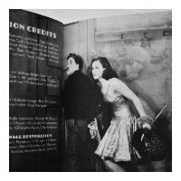 求这种类型的头像,黑白的,卓别林和一个女的图片
