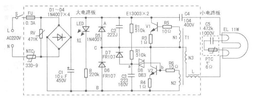 跟通用的电路图相比为何要加自激振荡电路?