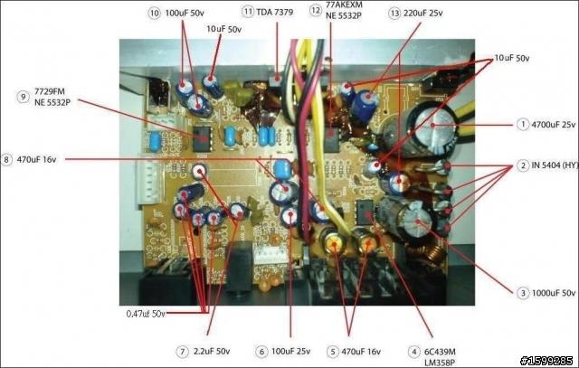 漫步者c3功放电路中,有2个ne5532和1个lm358,这三个运放分别有什么