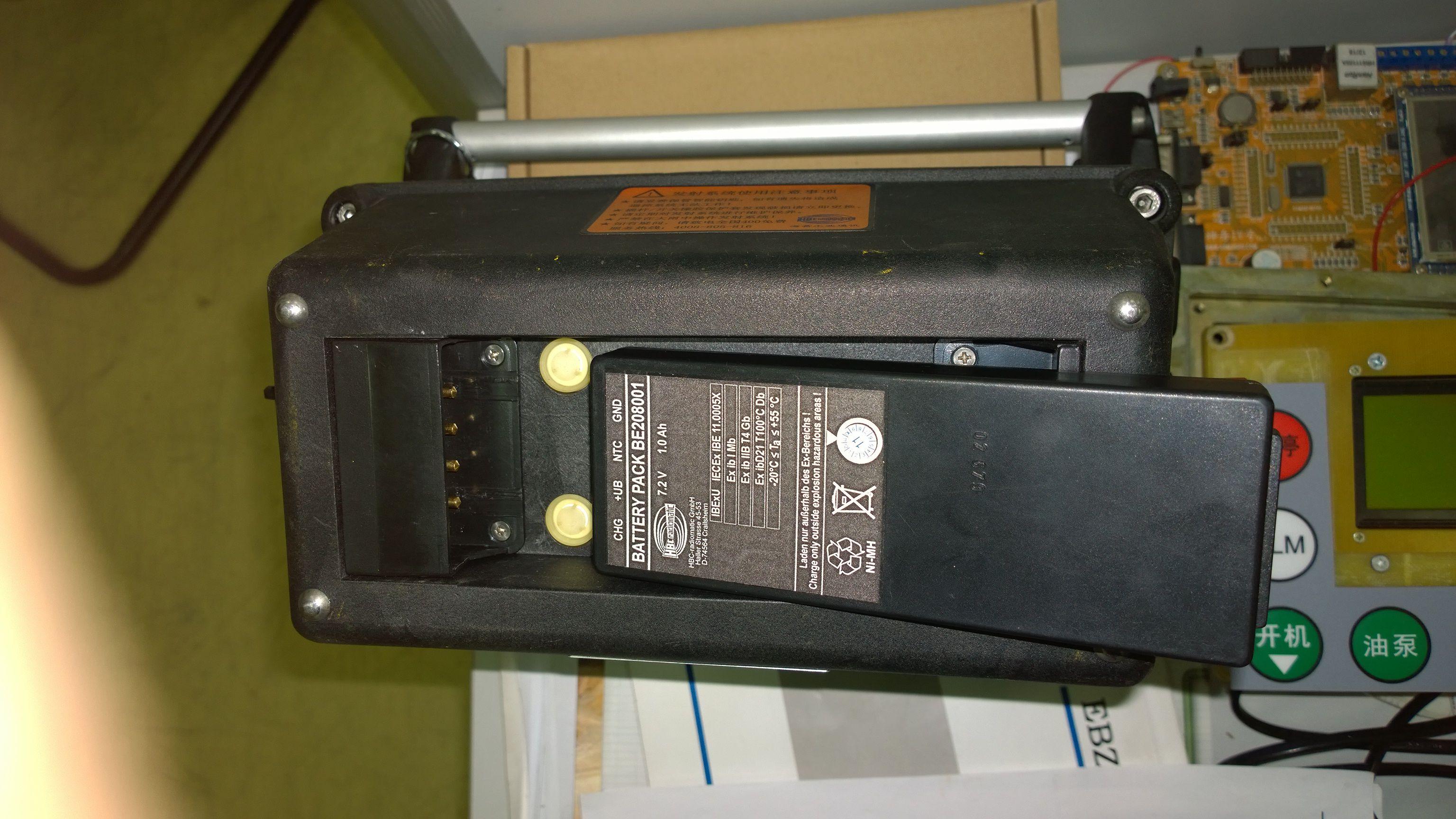 工业遥控器电池的问题