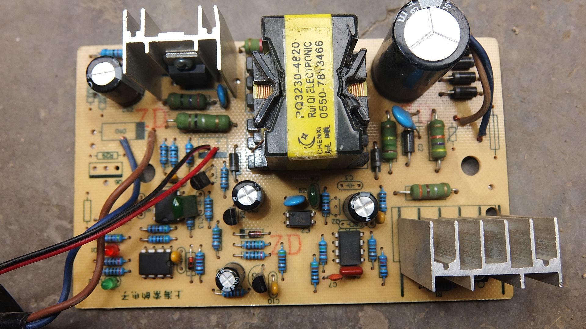二轮电瓶车充电器维修
