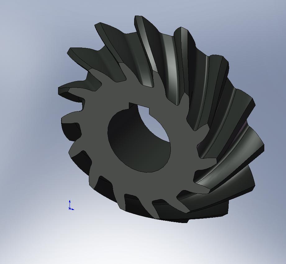 螺旋伞齿轮用proe怎么画,谢谢,请说的详细一点,最好有图片