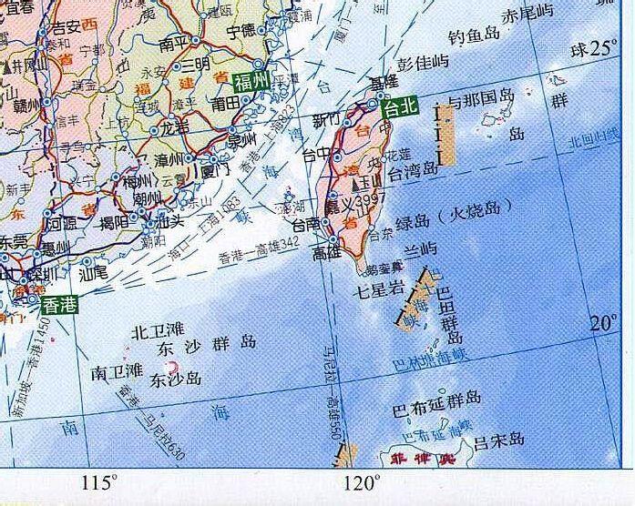 中国地图全图可放大_求带经纬度的中国地图,要清晰的