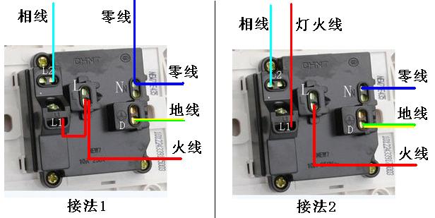 一开五孔插座有几个接线住