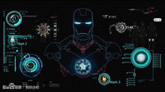 钢铁侠3盔甲设计图图片