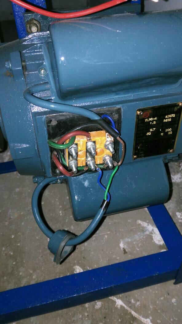 求大神解答单相双值电容电机接线方法