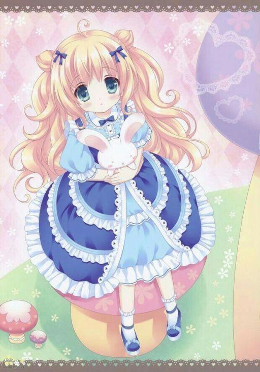 天平座动漫人物图片女生 可爱图片