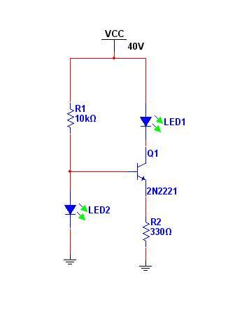 三极管恒流电路