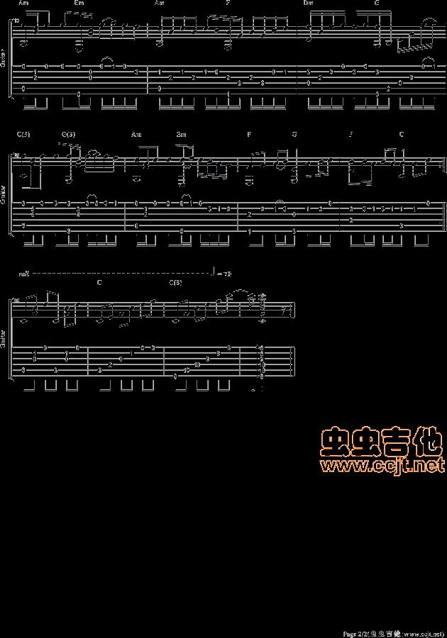 求久石让的千与千寻,风之甬道,悬崖上的金鱼公主的钢琴琴谱简谱!图片