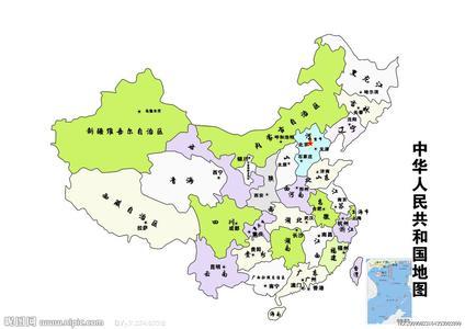 急求中国各省地图简图