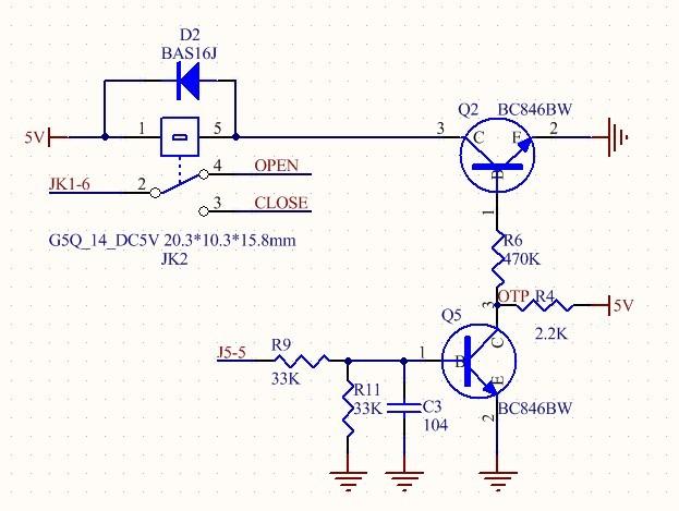 继电器驱动电路异常,为什么?