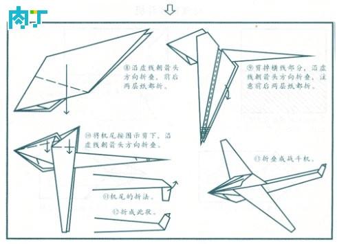 飞机对称平面图形