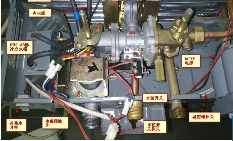 燃气热水器微动开关的结构和原理图片